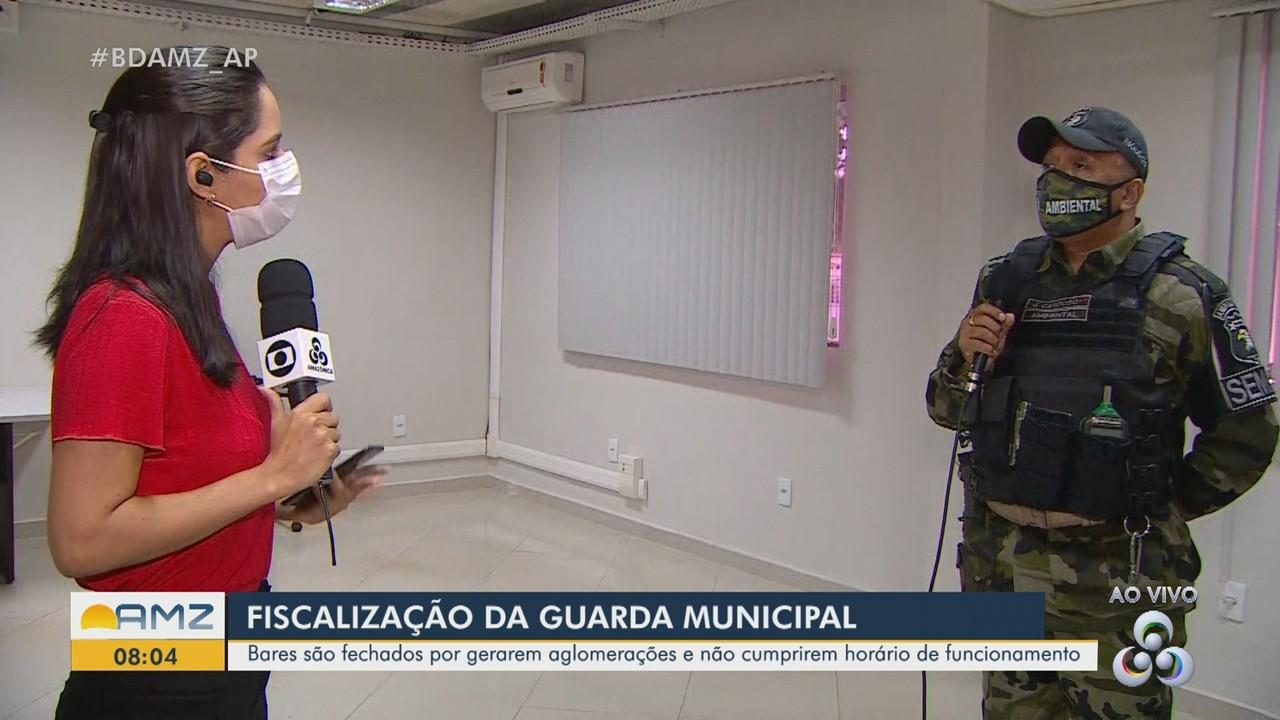 Fiscalização Ambiental reforça cumprimento de horário de estabelecimentos em Macapá