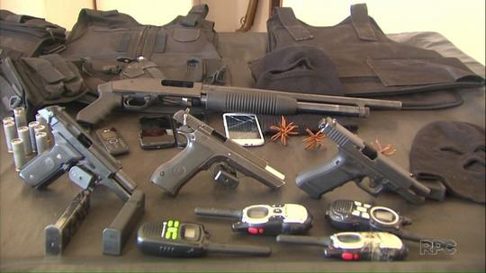 Polícia Civil prende seis pessoas suspeitas de praticar roubos na região de Maringá