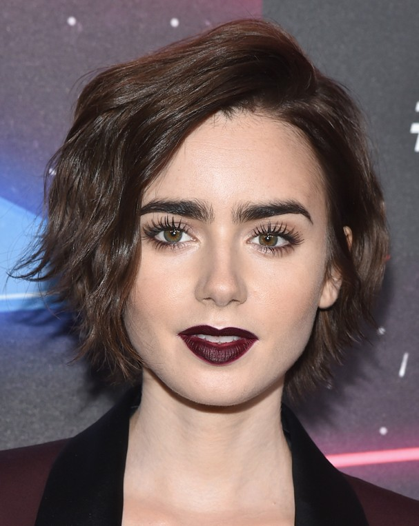 Lily Collins: contorno (Foto: Getty Images)