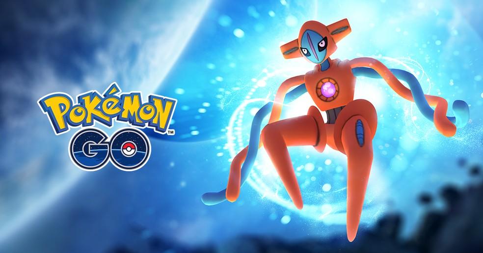 Deoxys volta ao Pokémon GO com sua forma brilhante liberada — Foto: Divulgação/Pokémon GO