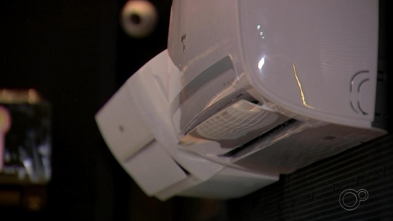 Lojas registram aumento nas vendas de ar-condicionado e ventiladores em Bauru