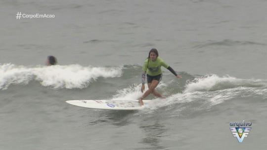 São Vicente recebe visita de estrela do longboard internacional