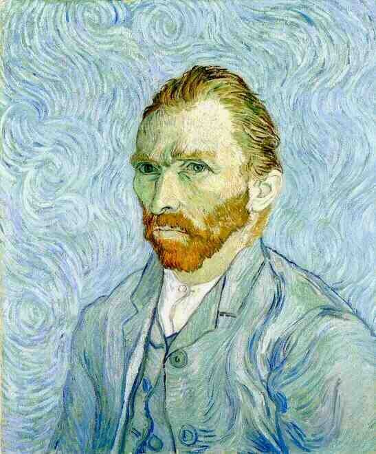 Autorretrato de Vincent Van Gogh, de 1889 (Foto: Vincent van Gogh, via Wikimedia Commons)