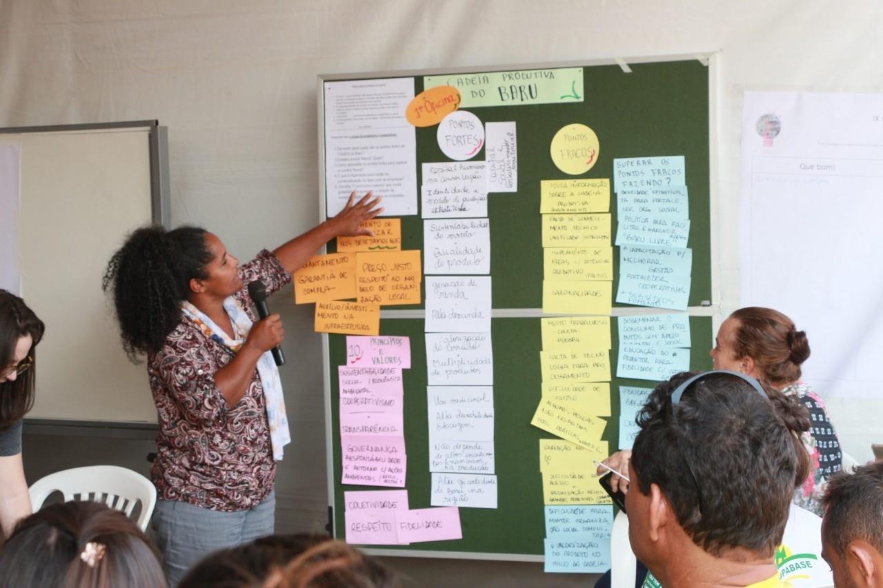Dona Preta (Foto:  Arquivo Ecoa-Ecologia e Ação)