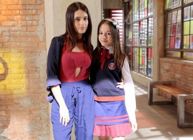 Lisandra Cortez e Bella Fernandes são as vilãs Bela e Filipa de As Aventuras de Poliana (Foto: Divulgação/SBT)