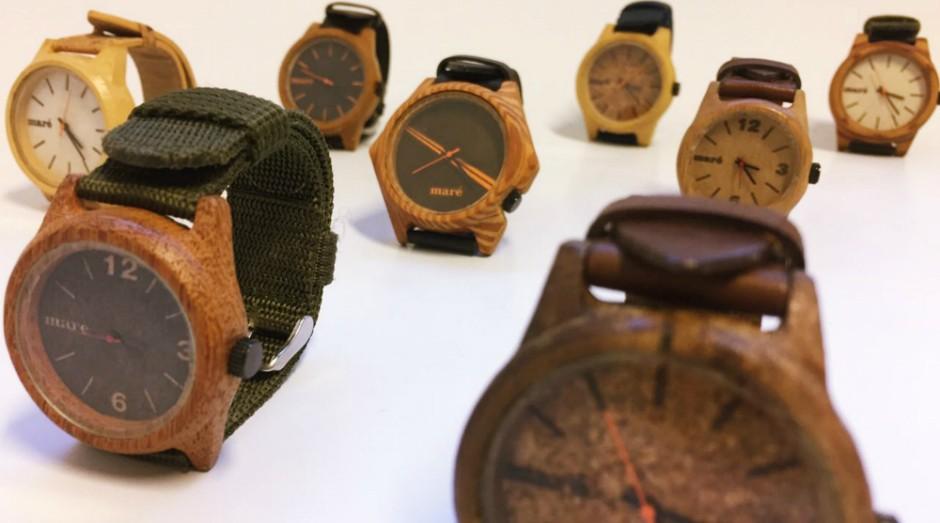 Maré Relógios já comercializou 500 unidades de seus relógios (Foto: Divulgação)
