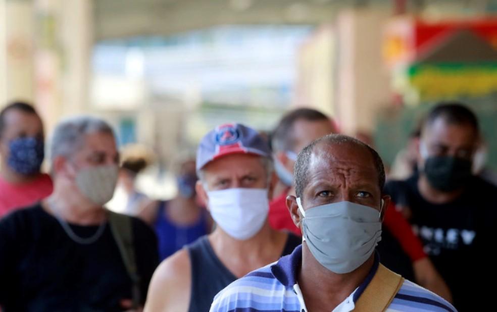Uso de máscaras passa a ser obrigatório em cidades da região de Itapetininga a partir desta 2ª — Foto: Marcos de Paula/ Prefeitura do Rio