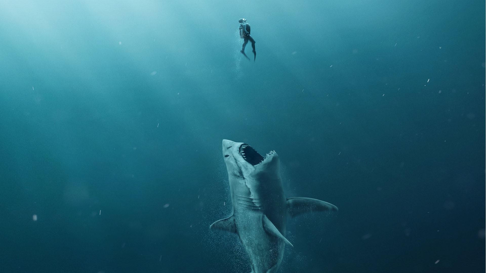 Filme mostra criatura marinha lutando contra humanos (Foto: Divulgação)