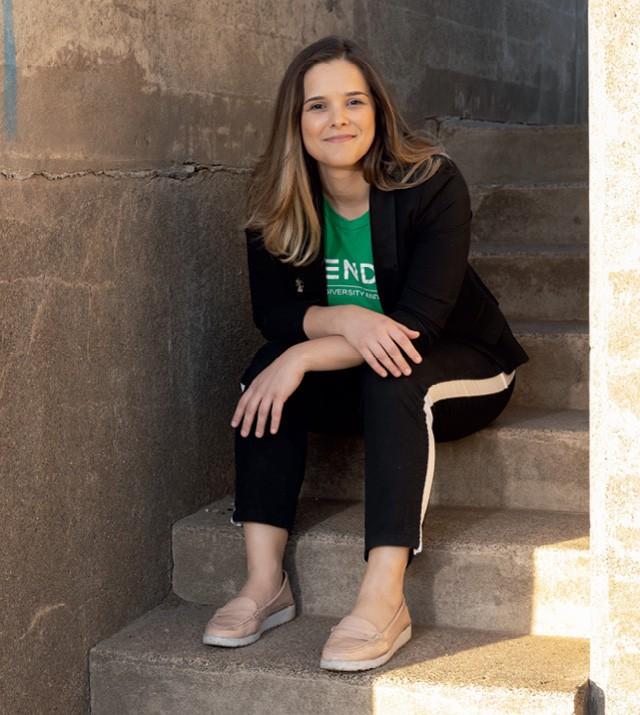 Thalita Gelenske Cunha, fundadora da Blend Edu, startup dedicada à promoção da diversidade  em empresas e escolas (Foto: Frédéric Neema)