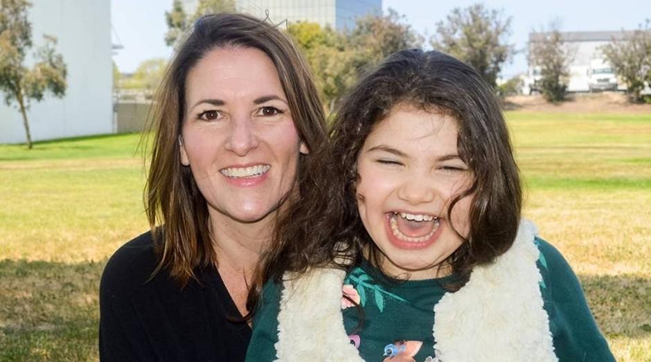 Natalie Dragotto e sua filha Gianna (Foto: Reprodução)
