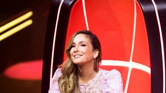 Claudia Leitte comenta vozes do segundo dia de Audições às Cegas