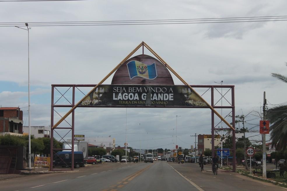 Município de Lagoa Grande vai ter toque de recolher  — Foto: Emerson Rocha