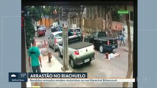Bandidos fazem arrastão em pontos diferentes da cidade