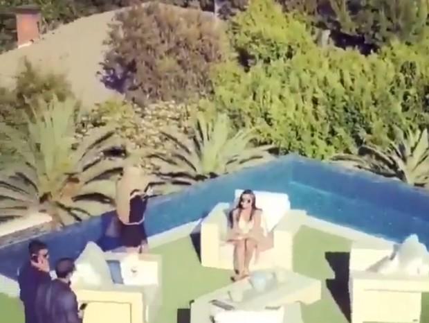 Mansão de Beyoncé e Jay Z (Foto: Facebook/Reprodução)