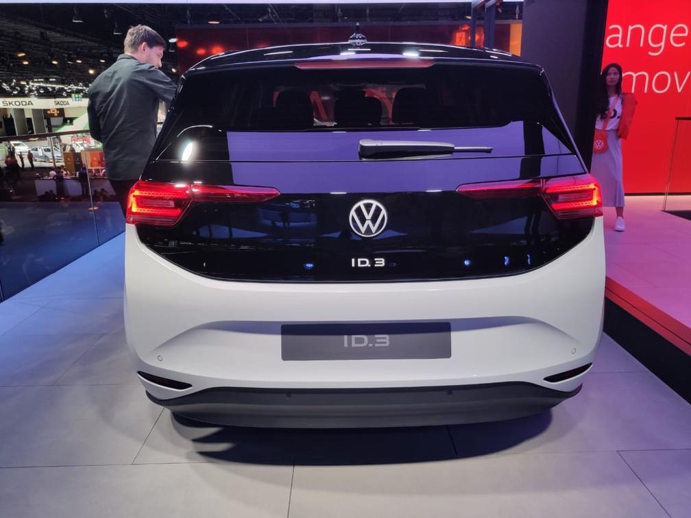 Volkswagen ID.3 — Foto: André Paixão/G1