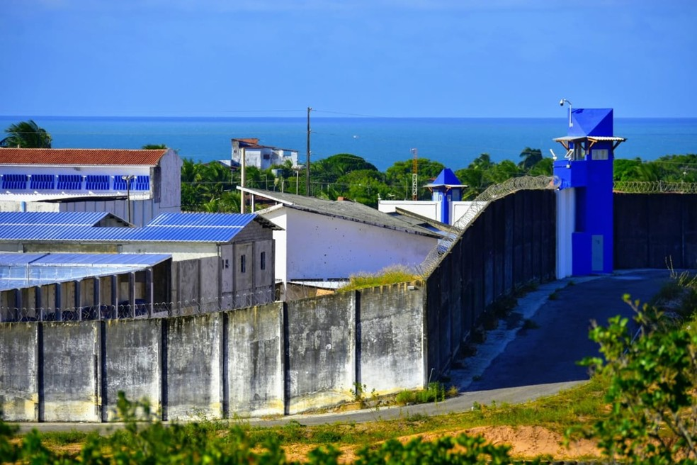 Advogados foram presos em Alcaçuz, maior unidade prisional do RN — Foto: Pedro Vitorino