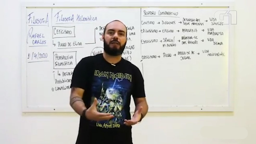 Rafael Carlos é professor de sociologia em São Luís e em Itapecuru Mirim — Foto: Reprodução