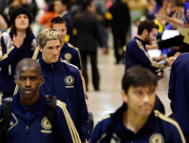 Fernando Torres chegada Chelsea (Foto: Reuters)