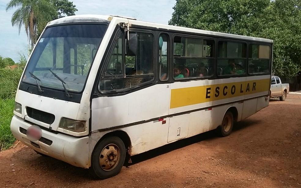 O Estado conta com 995 ônibus cedidos aos municípios. — Foto: PRF/Divulgação