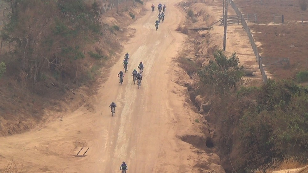Sucesso total no 1º Pedal Direito de Viver. em Prol do Hospital do Amor. (Foto:  Reprodução/Rede Amazônica)
