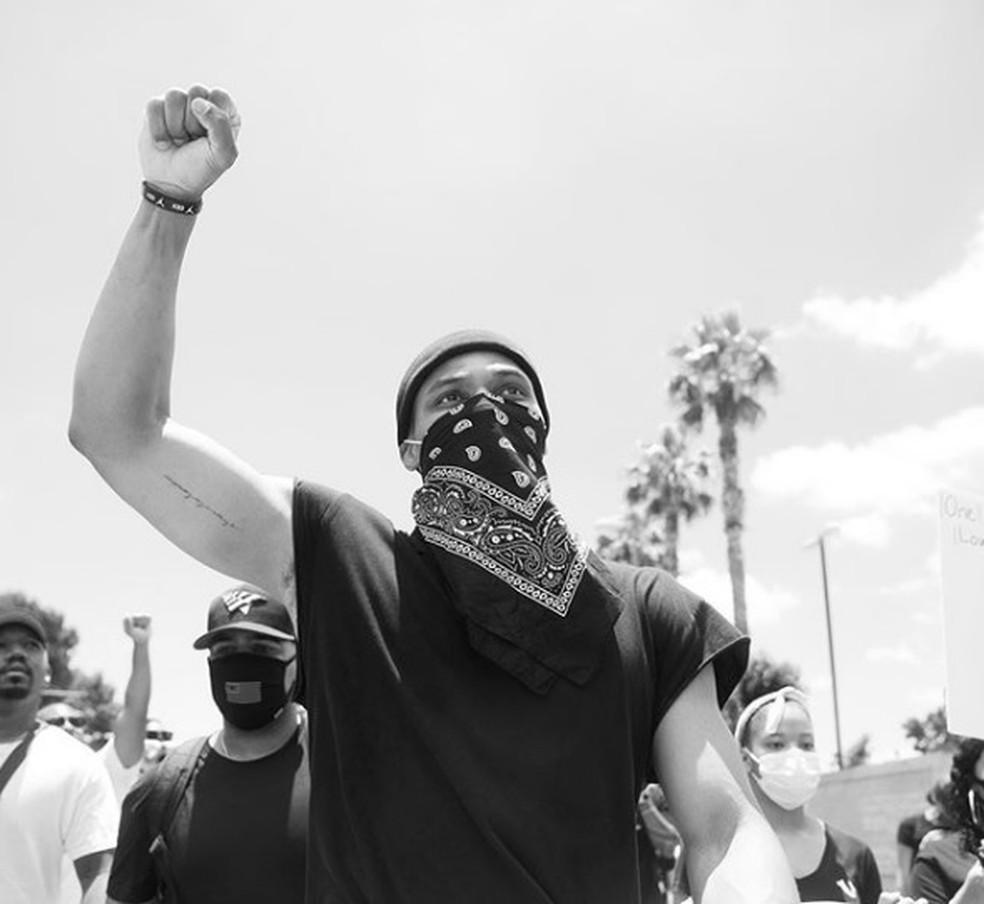 Russell Westbrook protestos racismo NBA — Foto: Reprodução/Instagram