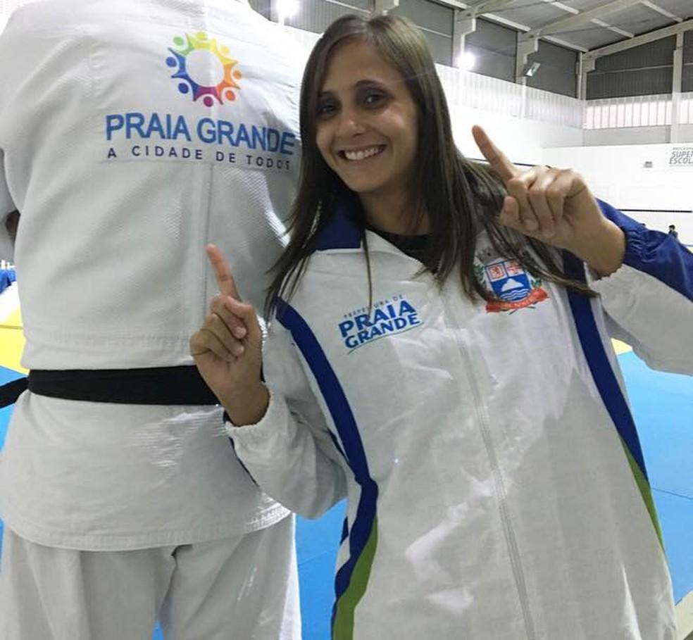 Gilmara Prudêncio defendeu Praia Grande nos últimos 13 anos (Foto: Arquivo pessoal)