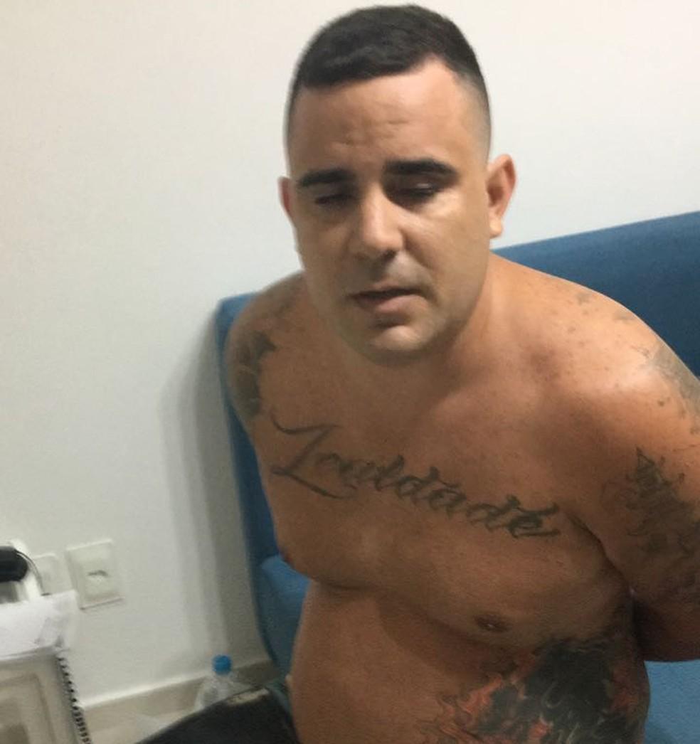 Horácio foi preso na Barra da Tijuca no dia 24 de fevereiro (Foto: Divulgação/Polícia Civil)