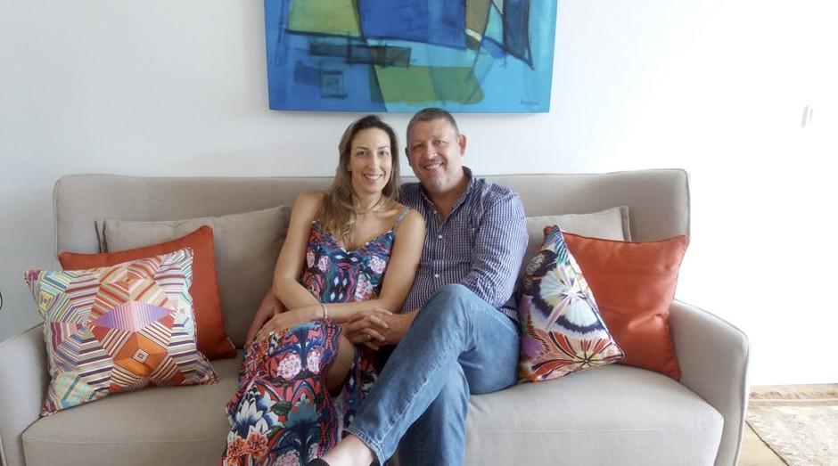 O casal Schultz comprou uma casa em condomínio fechado (Foto: Estadão Conteúdo)