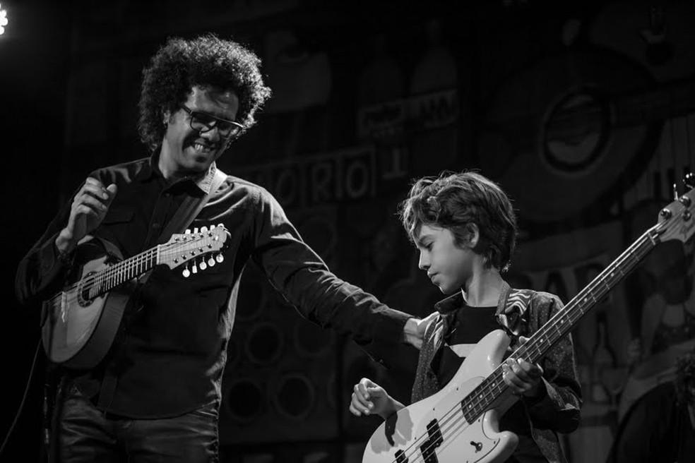 """Exposição """"Olhar do Choro – 10 anos de Retrato musical"""" — Foto: Renata Samarco"""