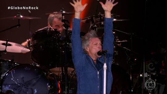 Bon Jovi é atração mais comentada no Facebook nos 7 dias do Rock in Rio 2017