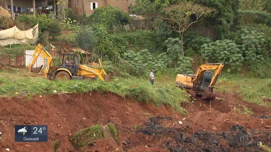 Prefeitura de Monte Belo inicia obras paliativas para conter cratera no bairro Vila Rica