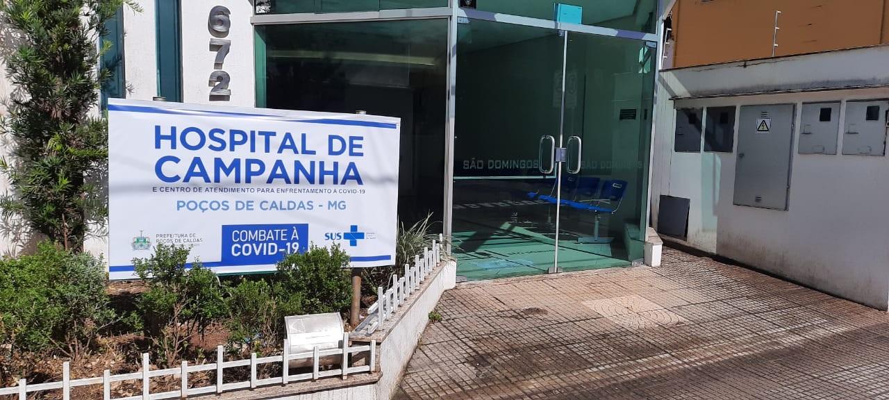 Prefeitura inaugura hospital de campanha com 30 leitos em Poços de Caldas, MG