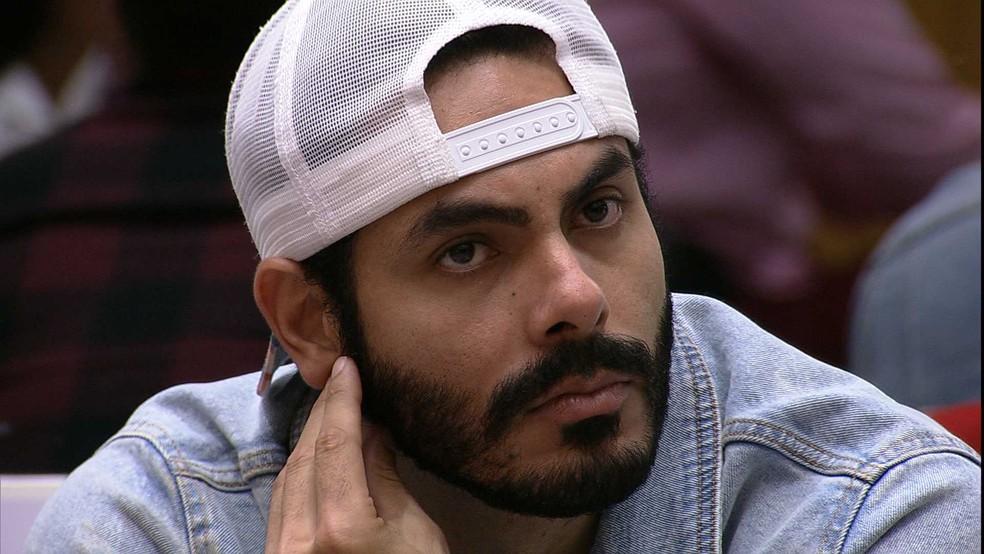BBB21: Rodolffo é o nono eliminado do programa, com 50,48% dos votos — Foto: Globo