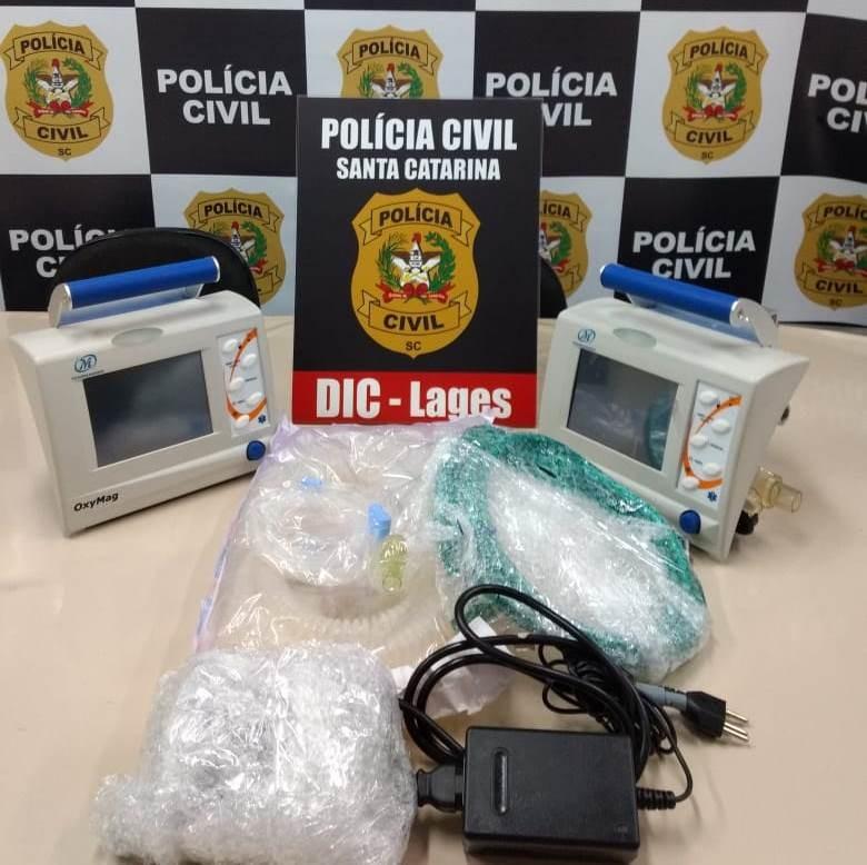 Funcionário de hospital de Lages é suspeito de revender aparelhos médicos avaliados em R$ 60 mil - Notícias - Plantão Diário
