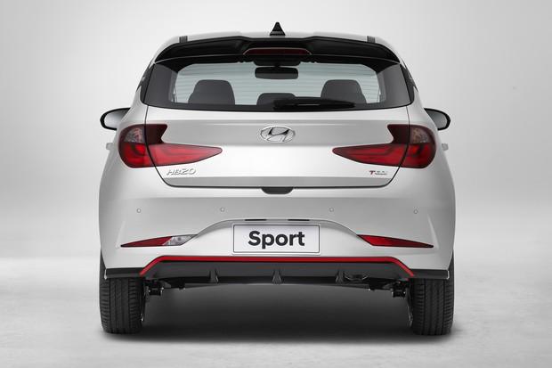 Hyundai HB20 Sport (Foto: Divulgação)