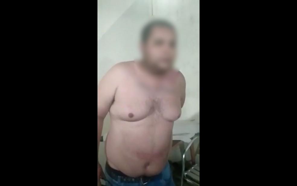Polícia Civil vai indiciar por tortura integrantes de motoclube que espancaram membro em vídeo — Foto: Reprodução
