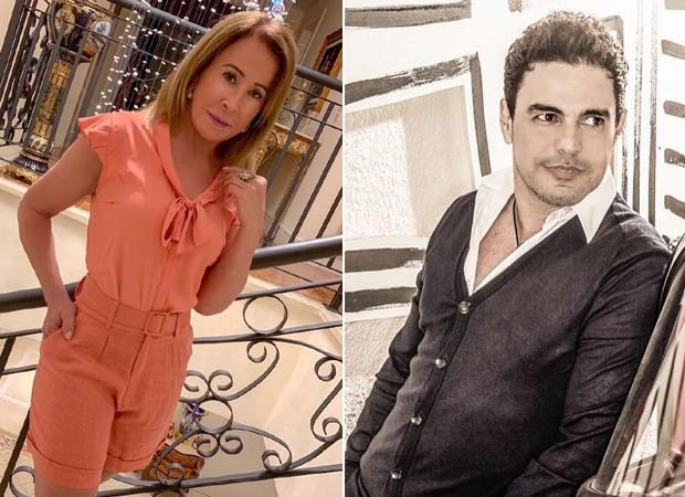 Zilu e Zezé di Camargo (Foto: Reprodução/Instagram)
