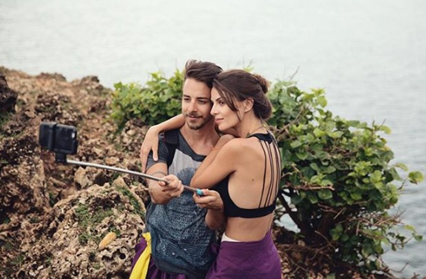 Junior Lima e Monica Benini  (Foto: Reprodução / Instagram)