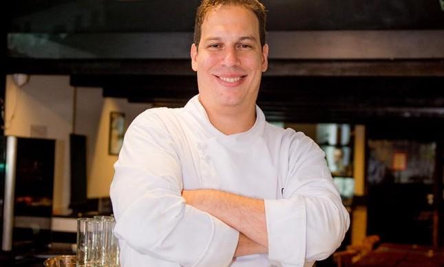 O chef Rodrigo
