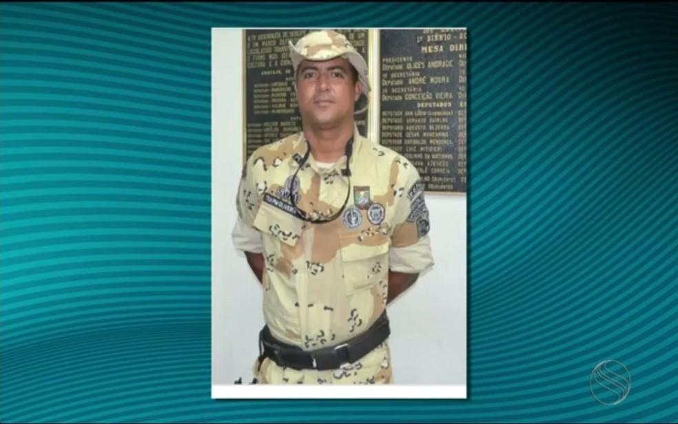 O capitão Manoel Oliveira é um dos fundadores e idealizadores do Pelotão de Caatinga da PMSE  (Foto: Reprodução TV Sergipe)