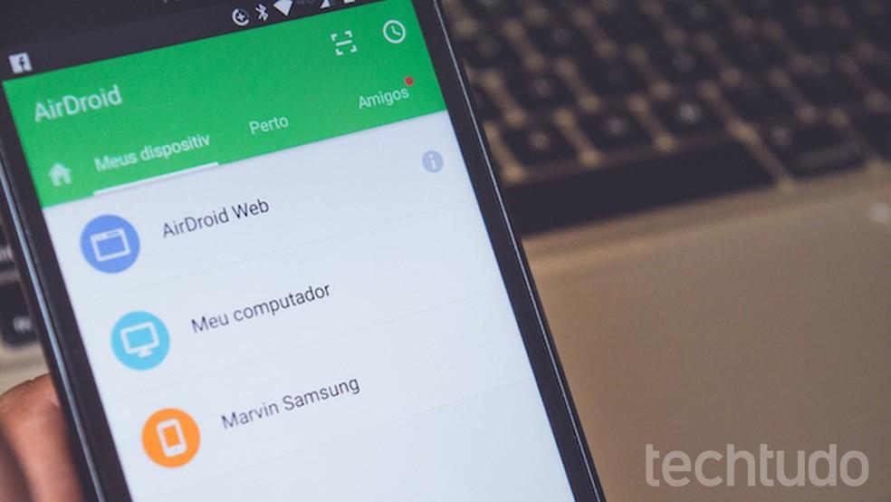 Tutorial mostra como gravar uma tela de um celular Android usando o aplicativo gratuito AirDroid (Foto: Marvin Costa / TechTudo)