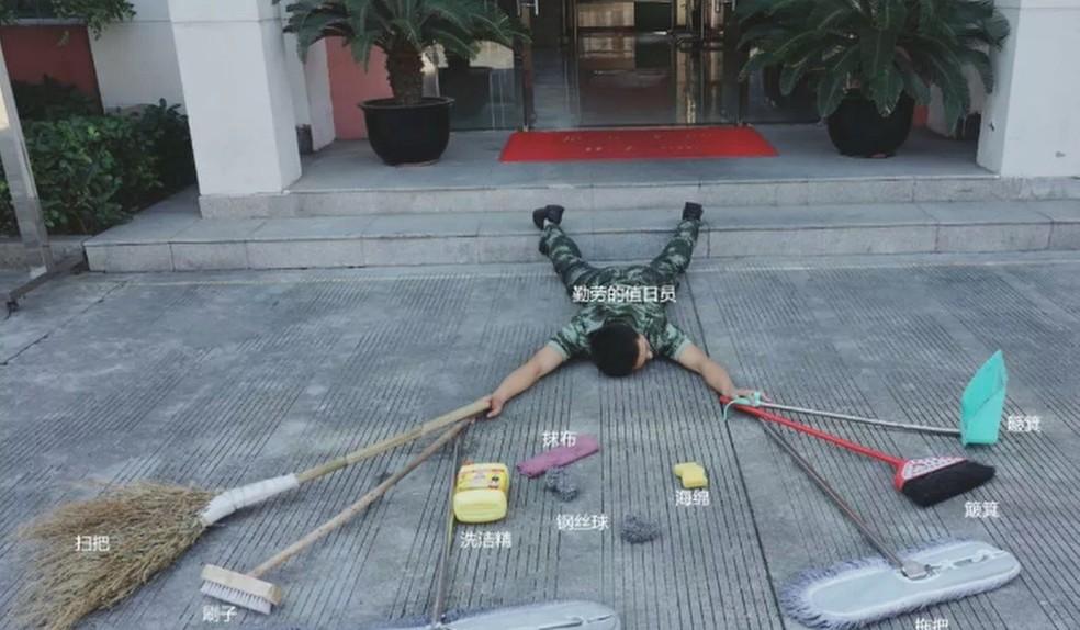 Desafio mudou de nome na China e atingiu outras redes sociais — Foto: Reprodução/WeChat