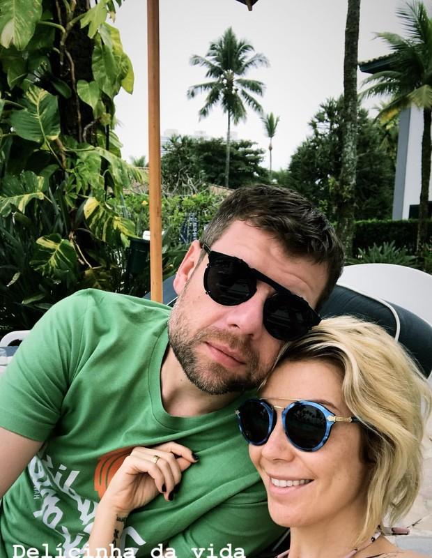 Cris Gomes e Luiza Possi (Foto: Reprodução/Instagram)