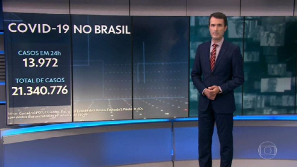 Brasil registra 548 mortes por Covid em 24 horas