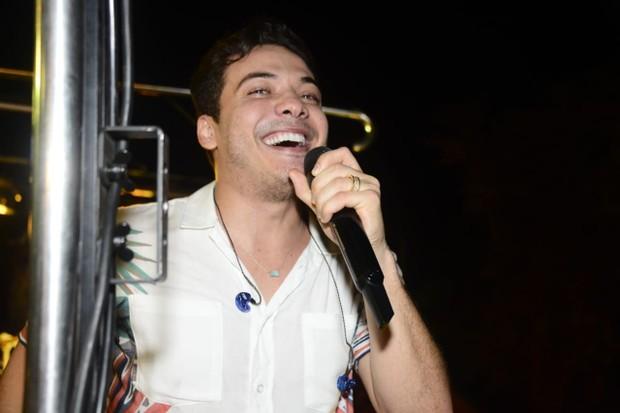 Wesley Safadão se apresenta no Fortal (Foto: Davi Magalhães/Divulgação)