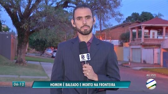Brasileiro é morto a tiros no Paraguai e suspeita é de acerto de contas do tráfico de drogas