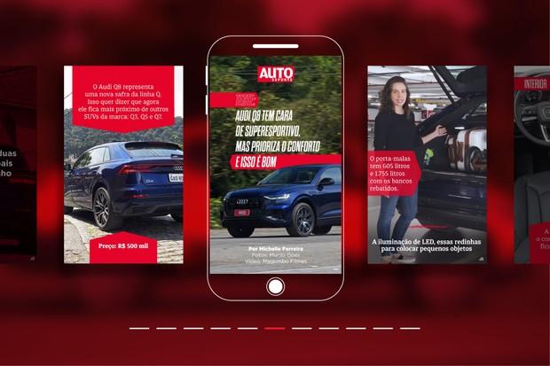 Webstories Audi Q8 (Foto: Autoesporte)