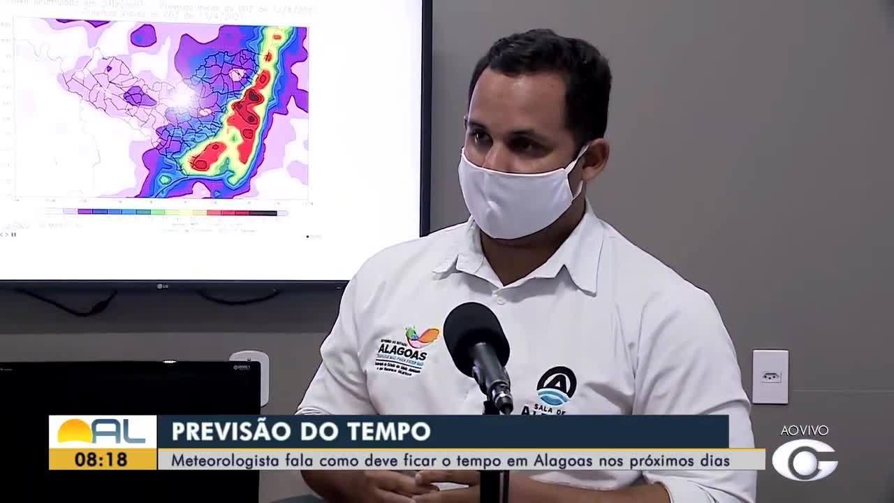Meteorologista fala como deve ficar o tempo em Alagoas nos próximos dias