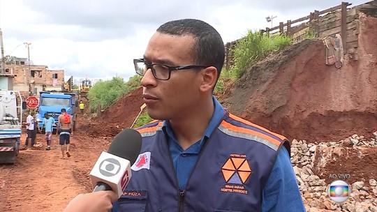 Defesa Civil recebe doações para vítimas das chuvas em Minas Gerais
