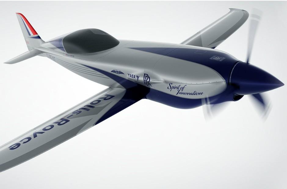 Rolls-Royce promete o avião elétrico mais rápido do mundo (Foto: Divulgação)